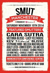 Smut Manchester poster