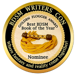 Golden Flogger nominee badge